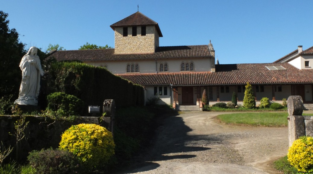 Vue de l'abbaye St Eustase