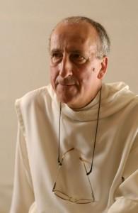 Portrait méditatif du Frère Vincent, moine peintre