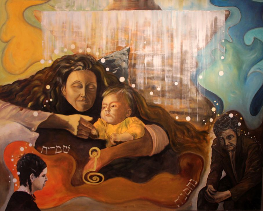 femme prenant soin de ses enfants