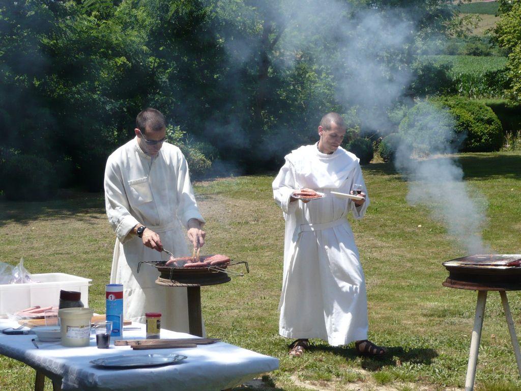 Barbecue en communauté
