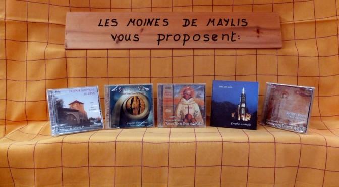 Présentation des CD de musique religieuse de l'abbaye de Maylis
