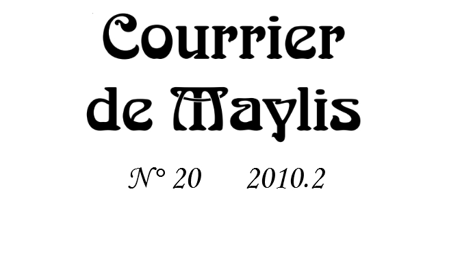 Courrier 20, 2010