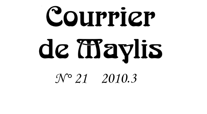 Courrier 21, 2010