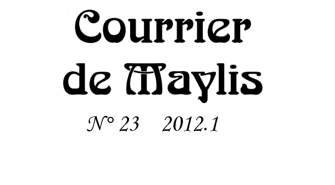 Courrier 23, 2012