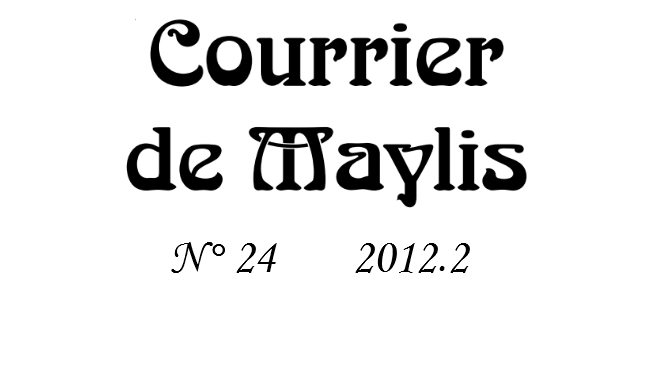 Courrier 24, 2012