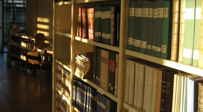 Rayon de bibliothèque
