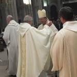 Un signe de communion entre le père abbé et l'évêque