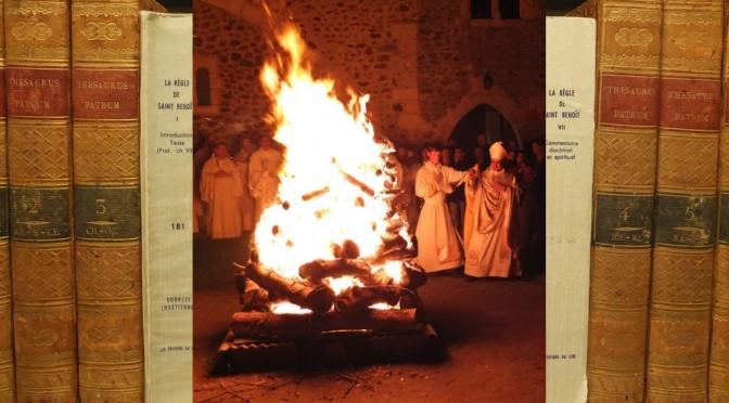 L'année bénédictine : une célébration pascale