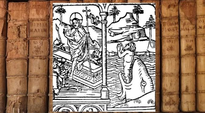 Lire les Ecritures : une gravure du XVe siècle