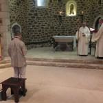 Dialogue entre le postulant et le père abbé