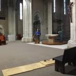 déshabillage de l'autel