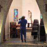 rangement dans la chapelle St Joseph