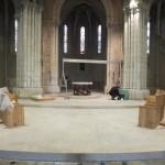 l'autel est en place
