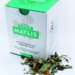 boite de tisane de la plante de Maylis