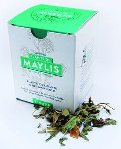 boite de la plante de Maylis en tisane