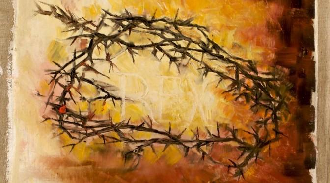 Christ Roi : Couronné d'épines