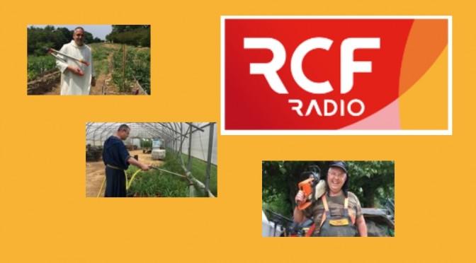 Logo RCF et photos des reportages