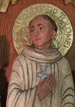 Buste de Saint Bernard Tolomei