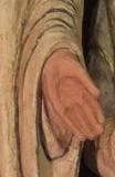 mains de Saint Bernard Tolomei