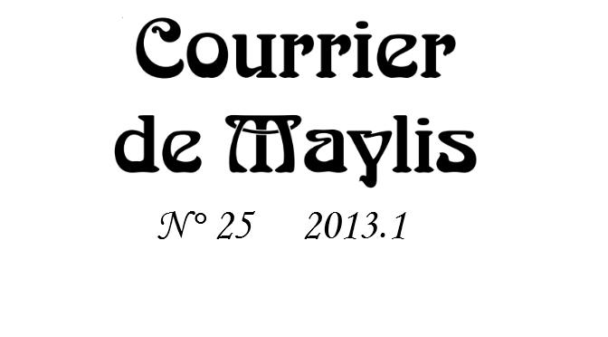 Courrier 25, 2013