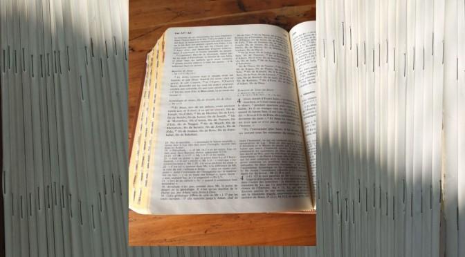 Lectio Divina : Points de repère