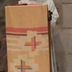 le novice proclame la prière litanique