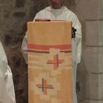 Lecture par le fr Oliveto, maitre des novices