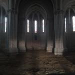 terre battue dans l'église