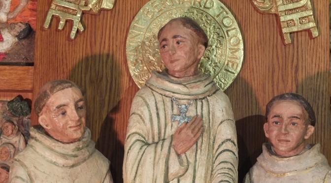 Un retable pour St Bernard Tolomei et ses compagnons