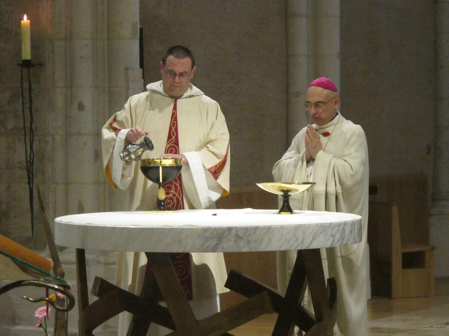 préparation du vin par fr Grégoire