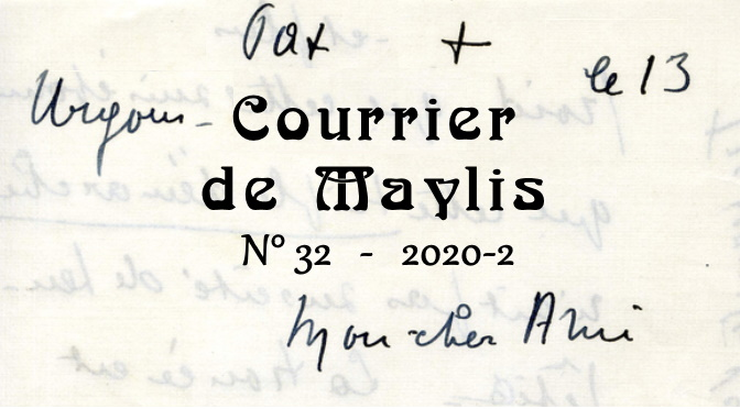 Courrier 32, 2020-2