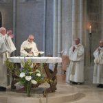 Prière eucharistique, intercession par frère Colomban